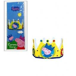 Peppa Pig Paper Cardboard Crown 1ct