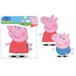 Peppa Pig Cardboard Cutouts 2pcs per pack 30cm each