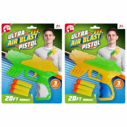 Toy Ultra Air Blust Gun with 3 Foam Pellets