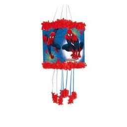 Marvel Ultimate Spider-Man Pull String Pinata + Blindfold