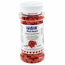 PME Red Mini Hearts Edible Confetti 65g