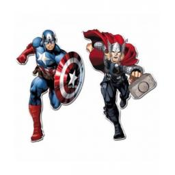 Avangers Assemble Paper Cutouts 2ct 30cm each assorted