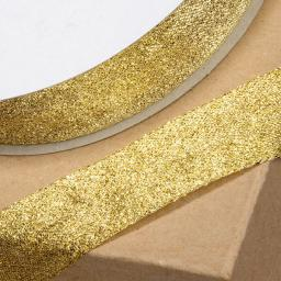 Lurex Ribbon Metallic 25mm x 1M Gold