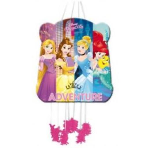 Disney Princess Pull String Pinata 28 x 33cm