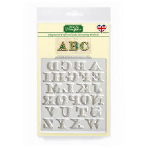 Katy Sue Manuscript Alphabet Moulds