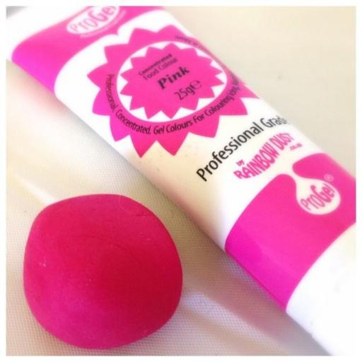 Pink Pro Gel Concentrated Food Colouring 25g