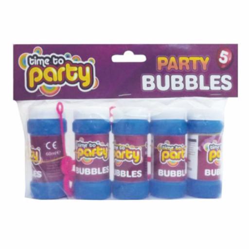Party Bubbles 5ct 45ml