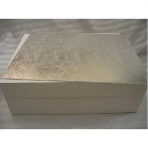 18x14 inch Card Oblong Silver