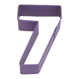 Number 7 Metal Cookie Cutter