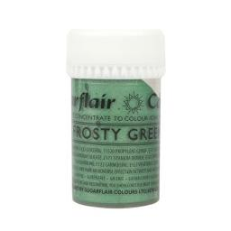 Sugarflair Satin Paste Colour Frosty Green 25g