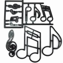 Patchwork Cutterss Extra Large Music Notes