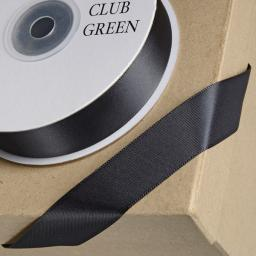 Black Satin Ribbon 38mm x 1m