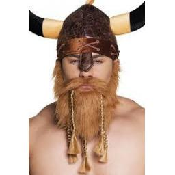 Viking Beard with moustache