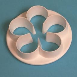 Petal Cutter Set 4 Pieces Five Petal