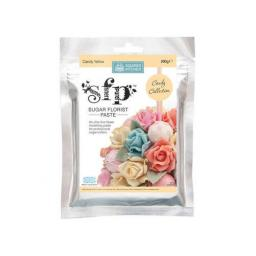 Squires Sugar Florist Paste (SFP) - Candy Yellow - 200g