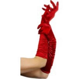 GLOVES Red Long Temptress 18 inch