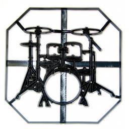 Patchwork Cutterss Drum Kit Plaque