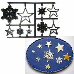 Patchwork Cutterss Snowflakes & Strars