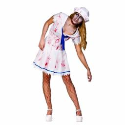 Sailor Zombie Girl Medium Size