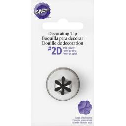 Wilton 2D Drop Flower Nozzle Decortaing Tip