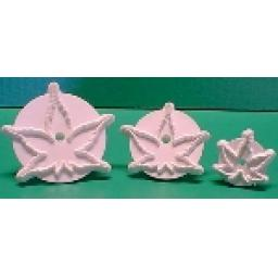 Japanese Maple Leaf Cutter Set (jm1 Jm2 Jm3) 70-