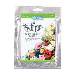 Squires Sugar Florist Paste (SFP) - Mint (Xmas Green) - 100g
