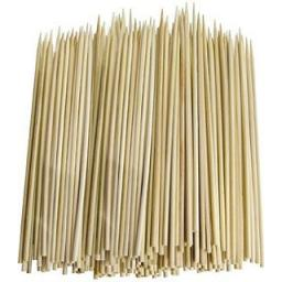 Bamboo Skewers 6 inch x 3mm 200ct