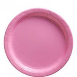 Party Paper Plates 22.9cm 8pcs New Pink