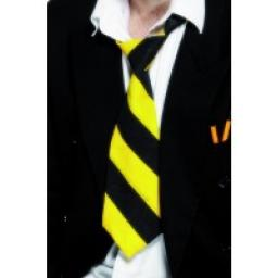 SCHOO TIE YELLOW & BLACK