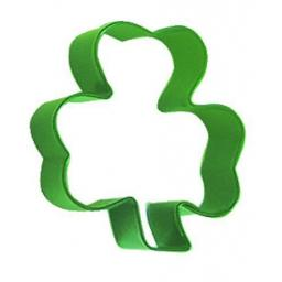 "Metal Shamrock 3"" Cookie Cutter"