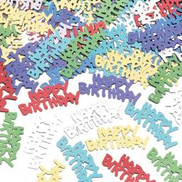Happy Birthday (Metallic) Confetti