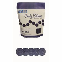 PME Dark Blue Candy Melt Buttons 340 g