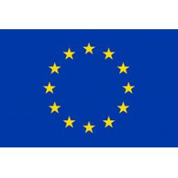 Flag of Euro Blue Stars 5ft x 3ft Polyester