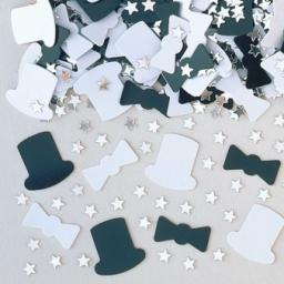 Top Hat Metallic Confetti 14g