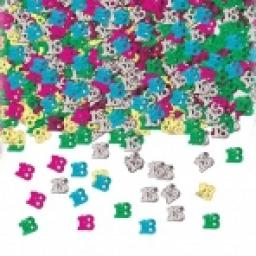 18th Birthday Multi Confetti Metallic - 14g
