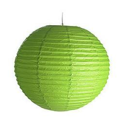 Paper Lantern Green 25cm Green or White or blue or Yellow