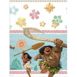 Moana Plastic Party Table Cover 120x180cm