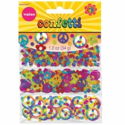 60s Groovy 3 Pack Confetti 34g