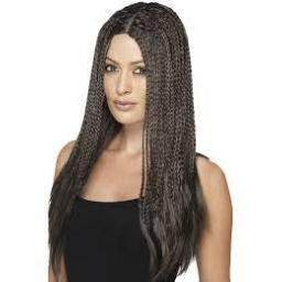 90s Braid Wig Brown