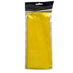Yellow Crepe Paper Long Folded 1.5m x 50cm