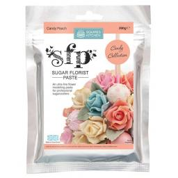 Squires Sugar Florist Paste (SFP) - Candy Peach - 200g