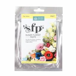 Squires Sugar Florist Paste (SFP) - Pale Yellow - 200g