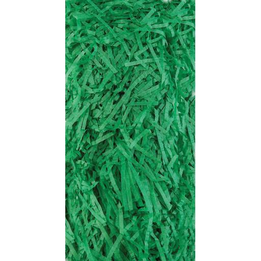 Medium Green Shredded Tissue Paper 20g