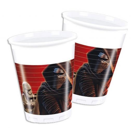 Star Wars Plastic Cups 200ml 8pcs