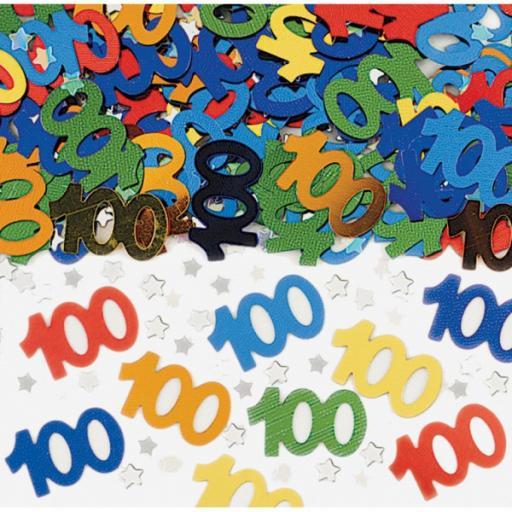 Large 100 (Metallic Mix) Confetti