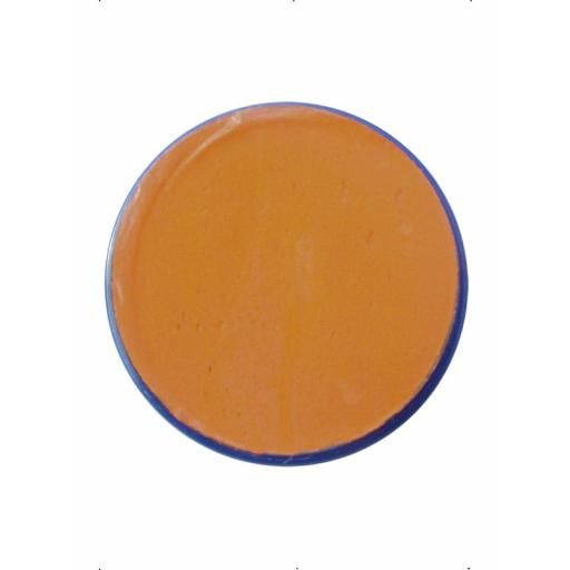 Orange Face and Body Paint Water Based 18ML