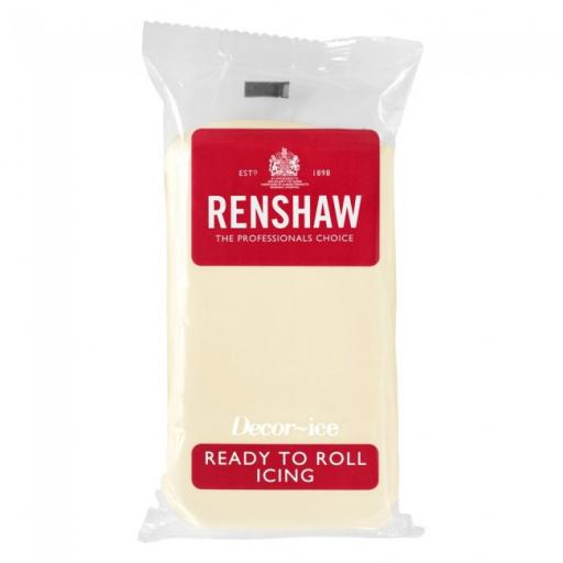 Renshaw Celebration Ready To Roll Champagne Color Icing 1kg