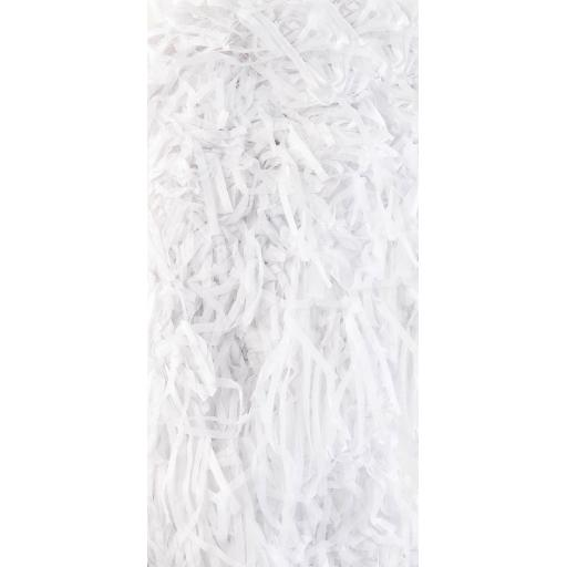 White Shredded Tissue Paper 20g