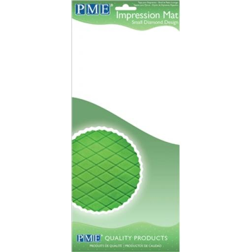 PME Impression Mat -Small Diamond Design