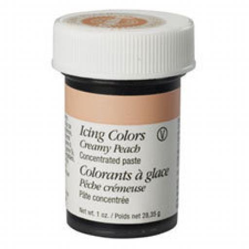 Wilton Creamy Peach Icing Colour